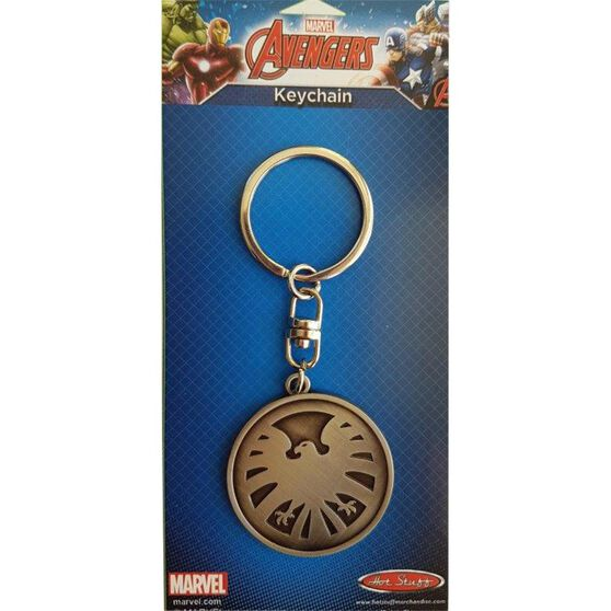 Avengers Icon Marvel Keyring - Silver, , scaau_hi-res