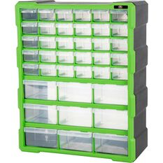 SCA Organiser - Green, 39 Drawer, , scaau_hi-res