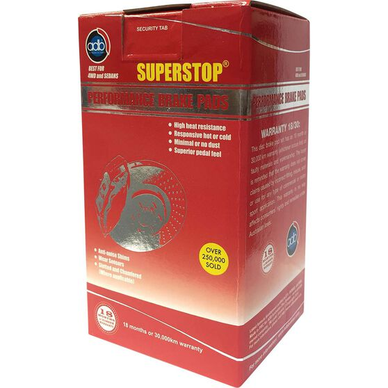 ADB SUPERSTOP Disc Brake Pads DB1765SS, , scaau_hi-res