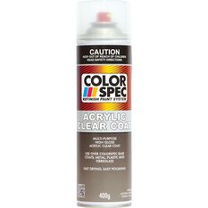 ColorSpec Aerosol Paint - Acrylic, Clear Coat, 400g, , scaau_hi-res