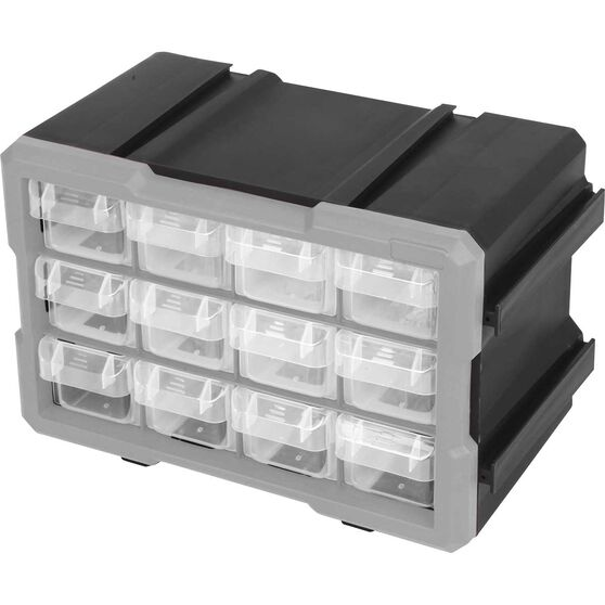 ToolPRO Connectable Organiser 12 Drawer, , scaau_hi-res