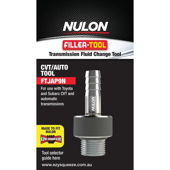 Nulon EZY-SQUEEZE Filler-Tool 9N For Toyota/Subaru CVT/Auto, , scaau_hi-res