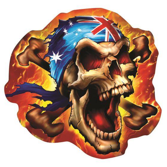 Hot Stuff Sticker - Aussie Rebel Flag, Chrome, , scaau_hi-res