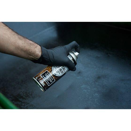 SCA Metal Cover Enamel Rust Paint Matt Black 1 Litre, , scaau_hi-res