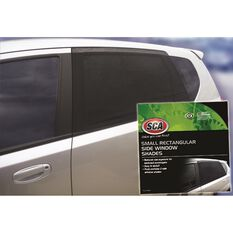 SCA Window Shade - Side, Small Rectangular, Black, Pair, , scaau_hi-res