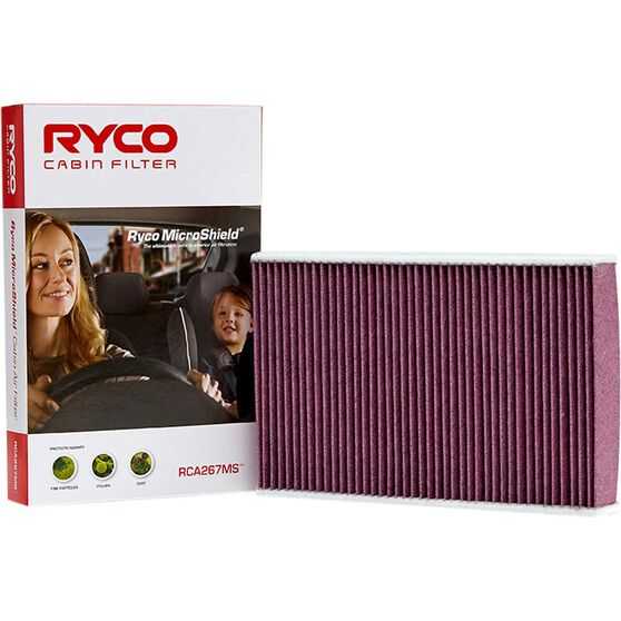 Ryco Cabin Air Filter Microshield- RCA267MS, , scaau_hi-res