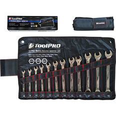 ToolPro Spanner Set - Ratchet, 12 Piece, Metric, , scaau_hi-res