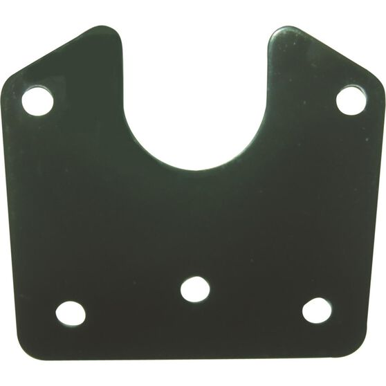 KT Cable Trailer Bracket - Flat Plate Small Round, , scaau_hi-res