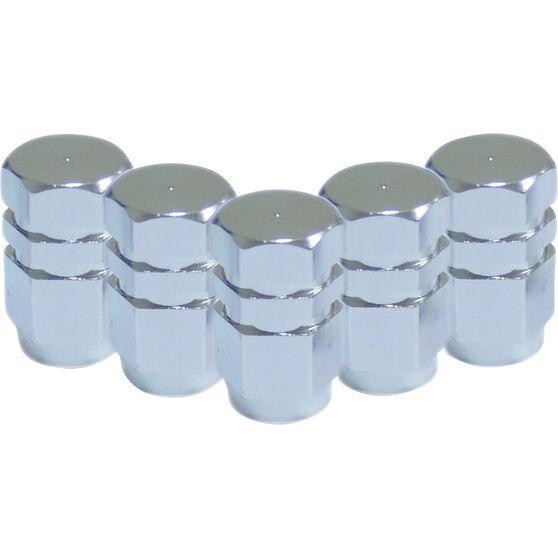SCA Valve Stem Caps - Silver, 5 Pack, , scaau_hi-res