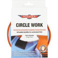 Bowden's Own Circle Work Applicator Pad - 150mm dia., , scaau_hi-res