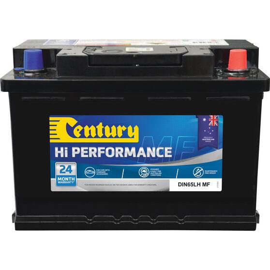 Century Hi Performance Car Battery DIN65LH MF, , scaau_hi-res