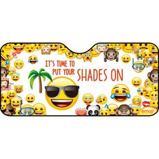 Emoji Sunshade - Multi, Accordian, Front, , scaau_hi-res