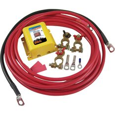 12v Dual Battery Isolator Kit, , scaau_hi-res