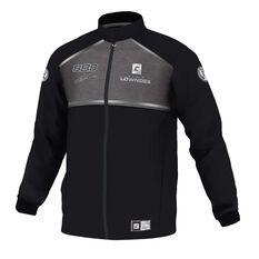 Craig Lowndes Men's 2020 Signature Series Track Jacket, Black, scaau_hi-res