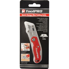 ToolPRO Quick Change Mini Folding Knife, , scaau_hi-res
