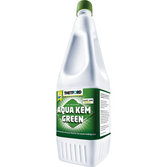 Thetford Aqua Kem Green Toilet Additive 1 Litre, , scaau_hi-res
