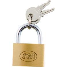 SCA Padlock - Brass, 30mm, , scaau_hi-res