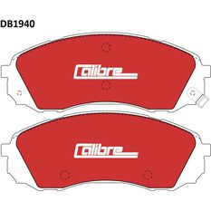 Calibre Disc Brake Pads DB1940CAL, , scaau_hi-res
