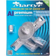 Martyr Alloy Outboard Anode Kit -CMY80100KITA, , scaau_hi-res