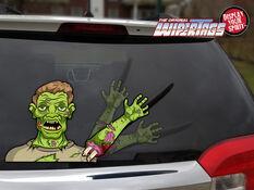 WiperTag Rear Window Blade Cover - Zombie, , scaau_hi-res