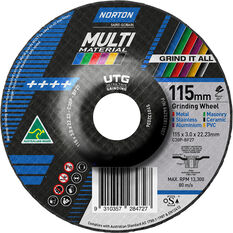 Norton Multi-material UTG Wheel 115mm, , scaau_hi-res