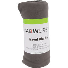 Cabin Crew Travel Blanket - Grey, , scaau_hi-res