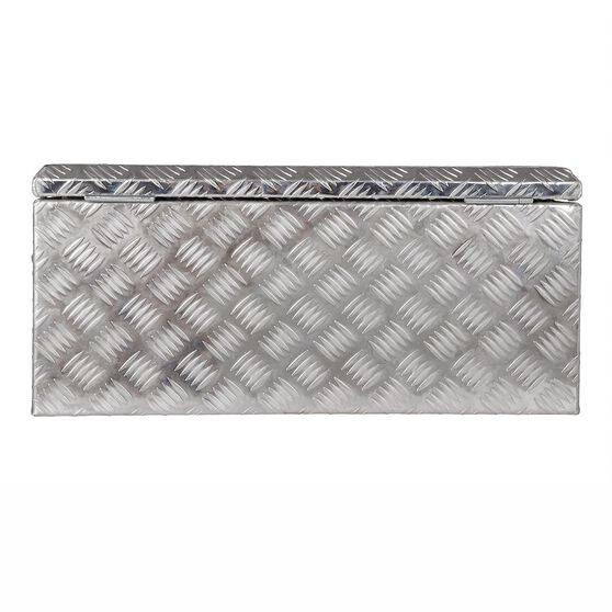 Thunderbox Tool Box - Aluminium Checkerplate, 48 Litre, , scaau_hi-res