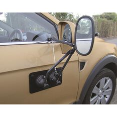 Drive Towing Mirror - With Magnetic Support Pad Single, , scaau_hi-res