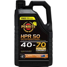 Penrite HPR 50 Engine Oil - 40W-70, 5 Litre, , scaau_hi-res