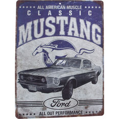 Hot Stuff Sticker - Ford Mustang, Vinyl, , scaau_hi-res