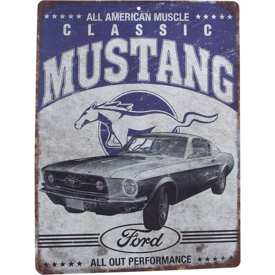 Hot Stuff Sticker - Ford Mustang, Vinyl, , scaau_hi-res