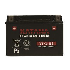 Powersports Battery -  YTX9-BS, , scaau_hi-res