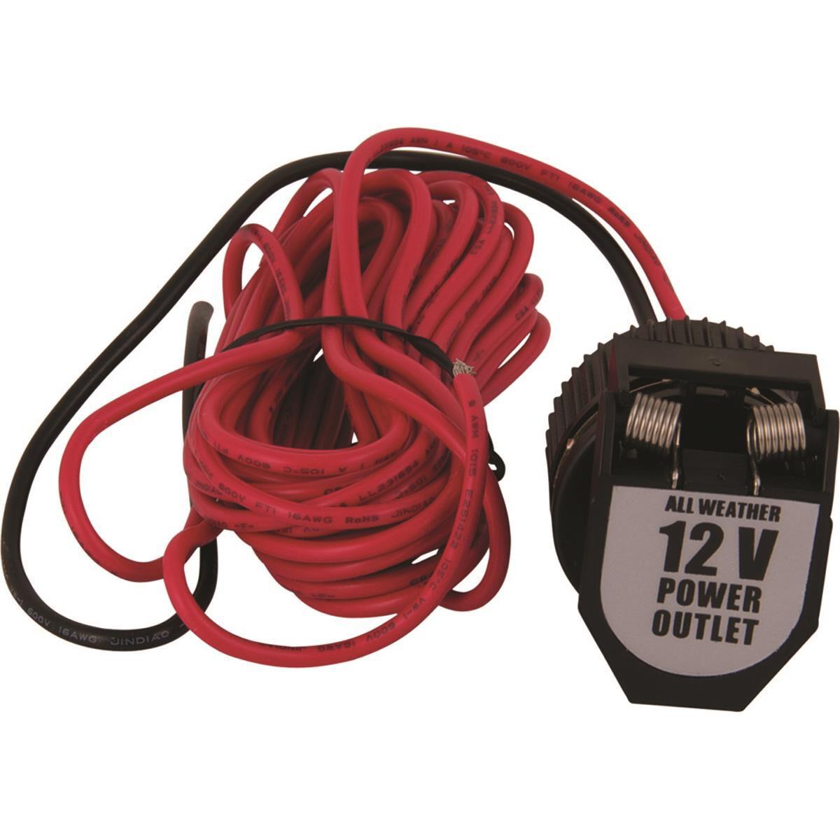 12v socket with wiring, heavy duty supercheap auto12v socket with wiring, heavy duty, , scaau_hi res