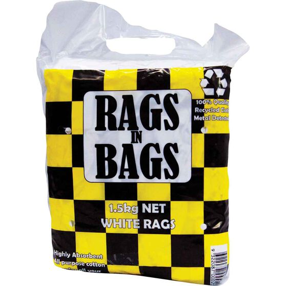 Rags in Bags White Cleaning Cloth 1.5kg, , scaau_hi-res