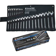 ToolPRO Spanner Set - Combination, 25 Piece, , scaau_hi-res