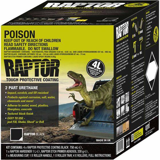Raptor Bedliner 4L Black Kit, , scaau_hi-res