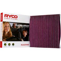 Ryco Cabin Air Filter Microshield RCA251MS, , scaau_hi-res
