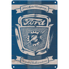 Heritage Tin Sign - Ford Car Grill, , scaau_hi-res