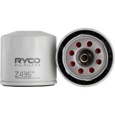 Ryco Oil Filter - Z436, , scaau_hi-res