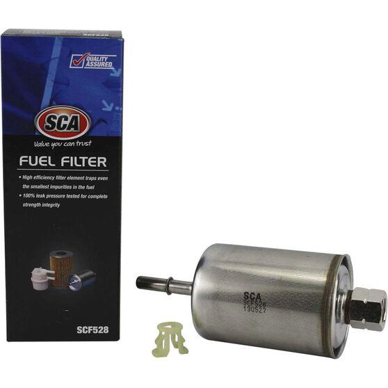 SCA Fuel Filter SCF528 (Interchangeable with Z528), , scaau_hi-res