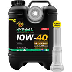 HPR Diesel 10 Engine Oil - 10W-40, 10 Litre, , scaau_hi-res