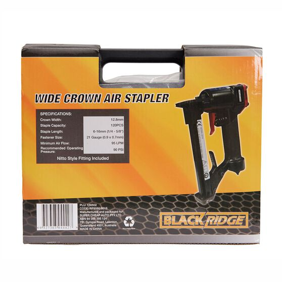 Blackridge Air Stapler - 12.8mm, , scaau_hi-res