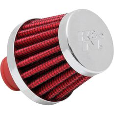 K and N Crankcase Vent Filter - KN 62-1600RD, , scaau_hi-res