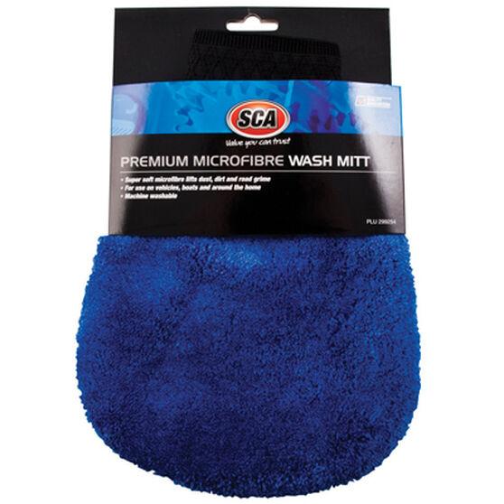 SCA Premium Microfibre Wash Mitt, , scaau_hi-res
