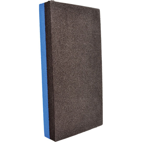Bodyworx Hard & Soft Sanding Block - 70 x 135mm, , scaau_hi-res