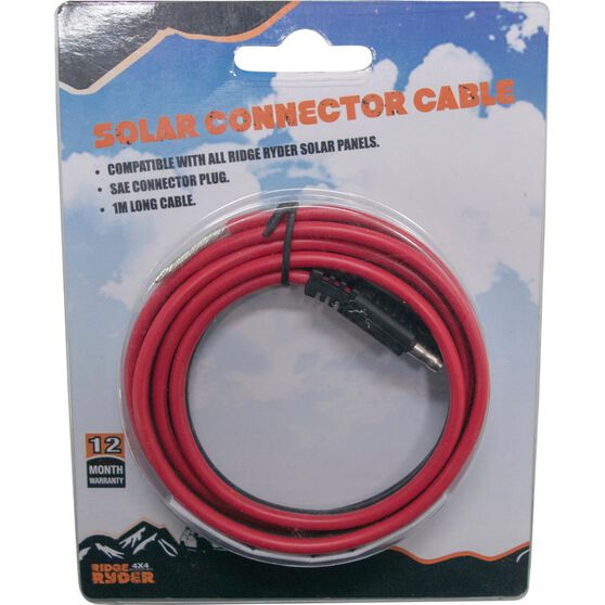 Ridge Ryder Solar Connector Cable - 1m, , scaau_hi-res