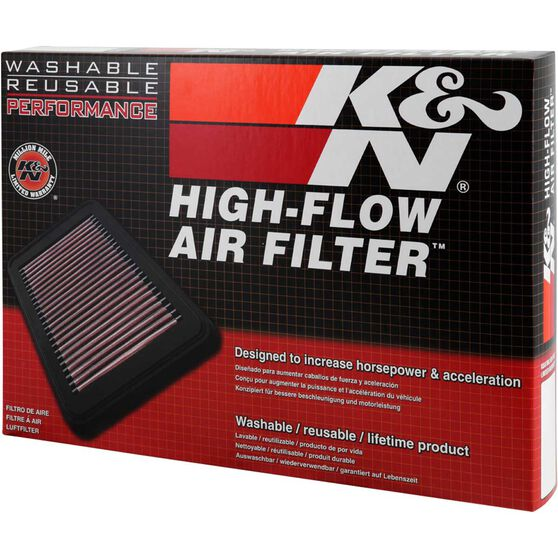 K&N Air Filter 33-2392 (Interchangeable with A1622), , scaau_hi-res