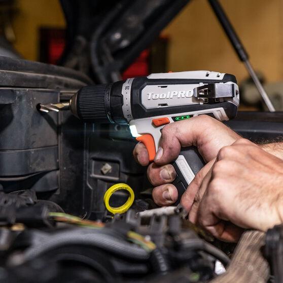ToolPRO 12V Drill Driver Skin 10mm J Chuck 12V, , scaau_hi-res