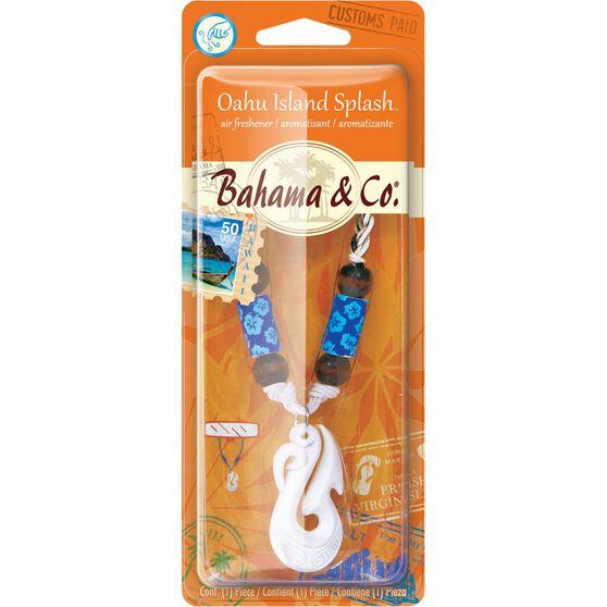 Bahama & Co Bone Hook Necklace Air Freshener - Oahu Island Splash, , scaau_hi-res