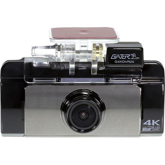 Gator G4KDVR20 4K 2160P Dash Cam with GPS & WiFi Connectivity, , scaau_hi-res